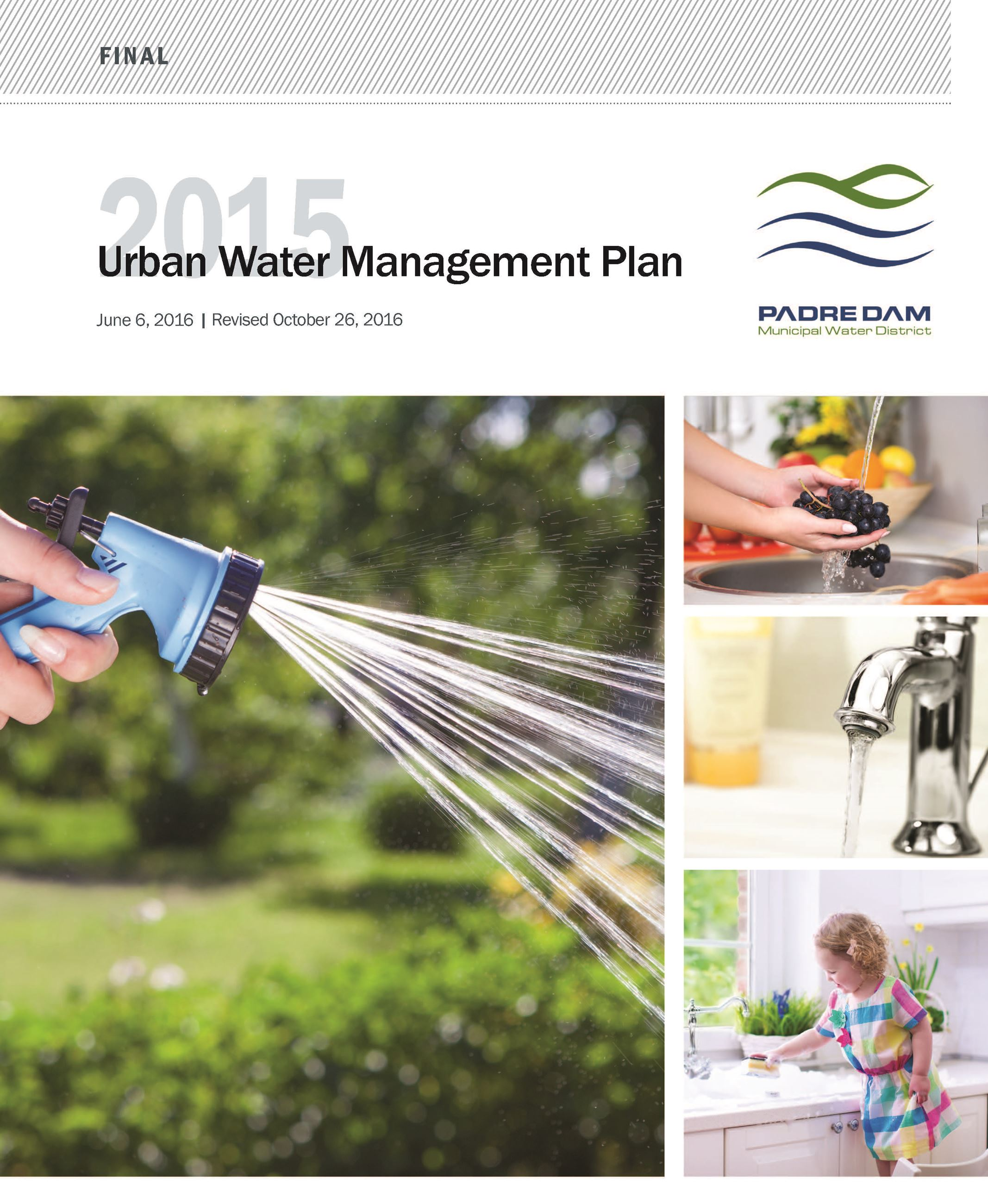 Urban Water Management Plan Cover