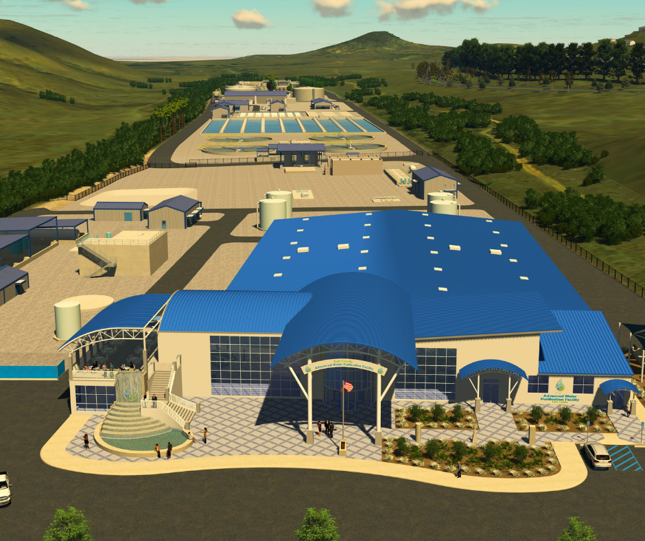 East County Advanced Water Purification Facility Rendering