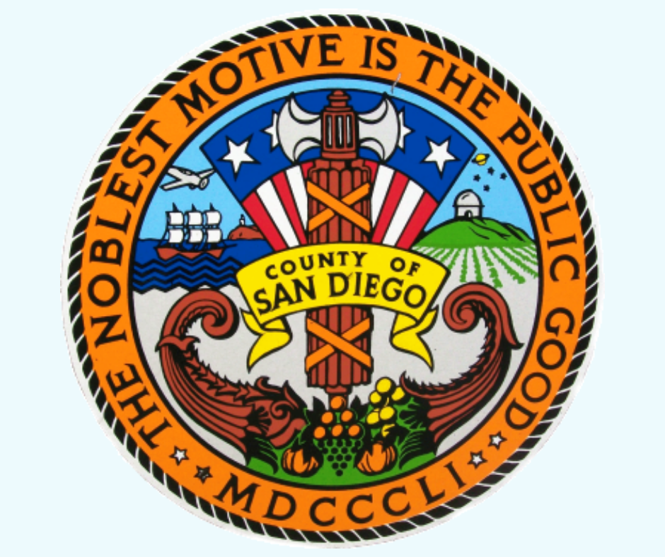 County of San Diego Seal