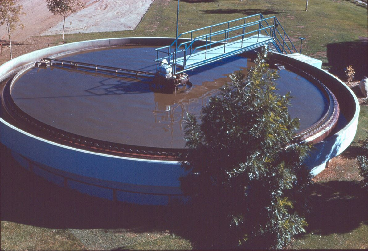 Original Water Treatment Plant in 1961