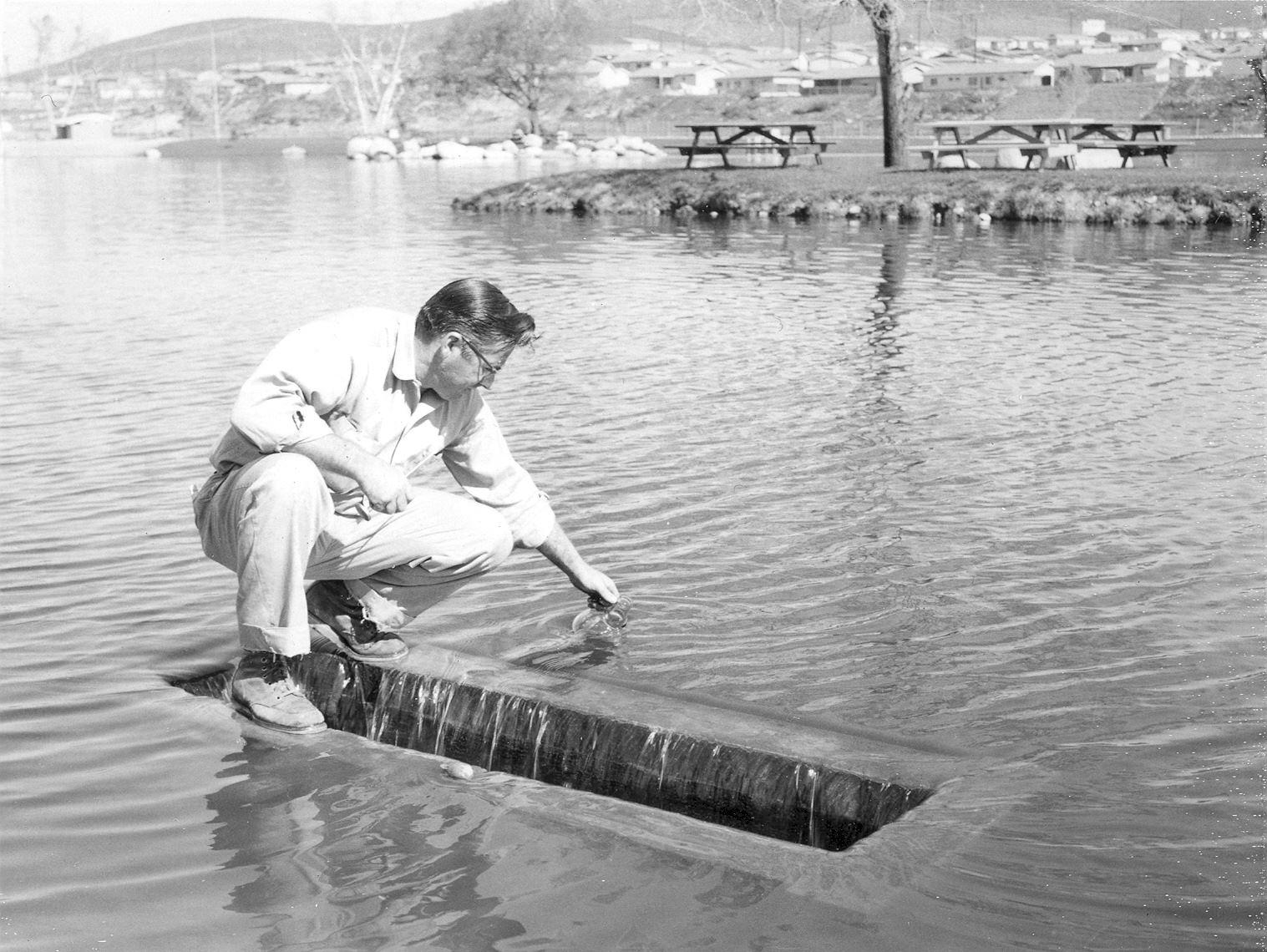 Santee Lakes Monitoring 1962