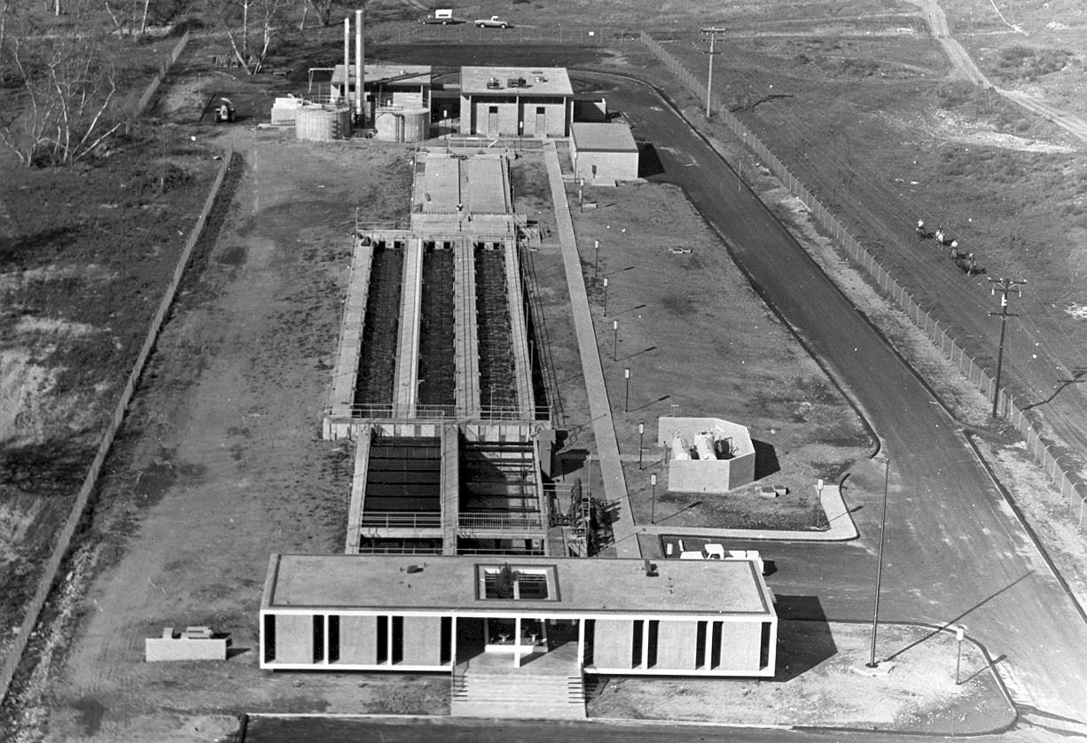 Water Recycling Facility 1968